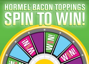 HORMEL® Bacon Toppings Instant Win Game