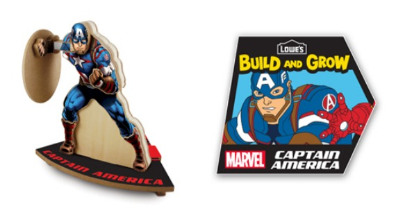 Lowe's Build and Grow: Captain America