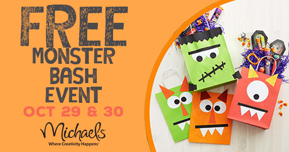 Free Monster Bash At Michaels