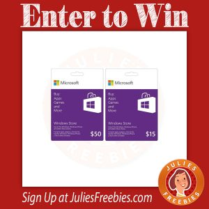 Win a Windows Gift Card
