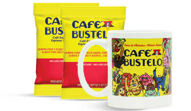 Free Cafe Bustelo Mug and Coffee Samples at Smucker Away