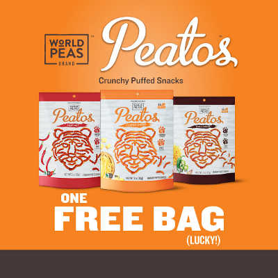 Free Printable Coupon for Peatos Crunchy Puffed Snacks