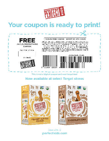 Get a Free Perfect Kids Snack Bar