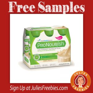 Free Nestle ProNourish Nutritional Drink Samples