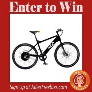 Win a Riide Electric Bike