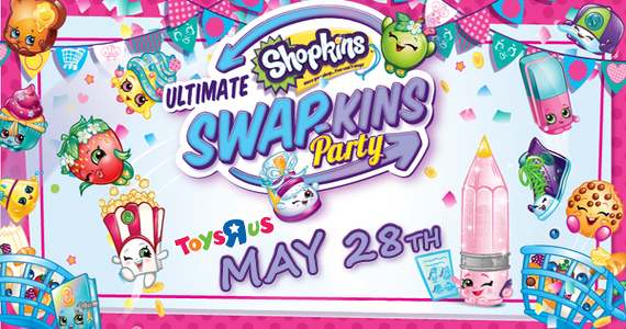 Free Shopkins Event At Toys R Us On 5/28