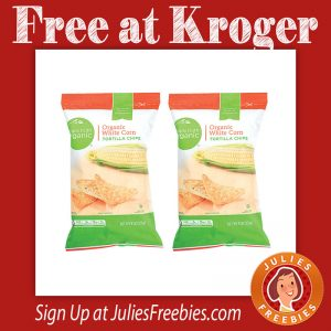 Free Simple Truth Organic Chips at Kroger