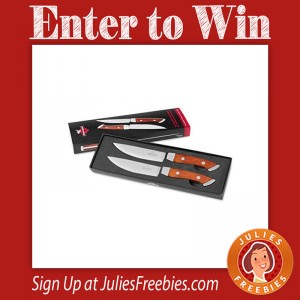 Win a Set of Steak Knives