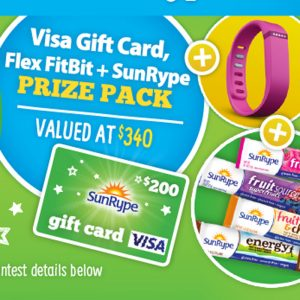 Win a SunRype Back to School Prize Pack