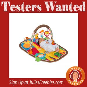 Take & Play Safari Activity Gym Testers Wanted