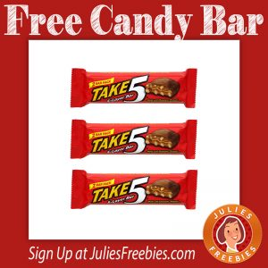 Free Take5 Chocolate Candy Bar