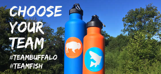 Free #TEAMBUFFALO and #TEAMFISH Stickers from Tribe Provisions (For US Residents Only)