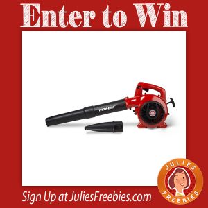 Troy-Bilt Power Into Fall Sweepstakes