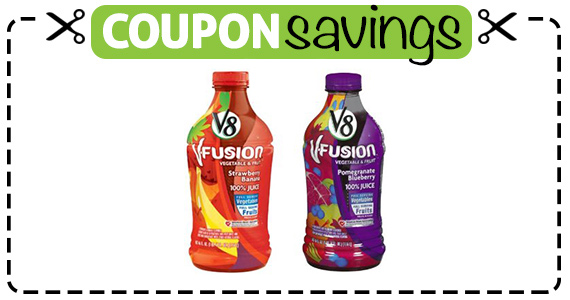 Save 75¢ off V8-Fusion or V8 Veggie Blends