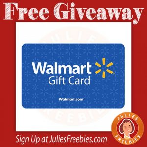 Free Walmart Gift Card Giveaway
