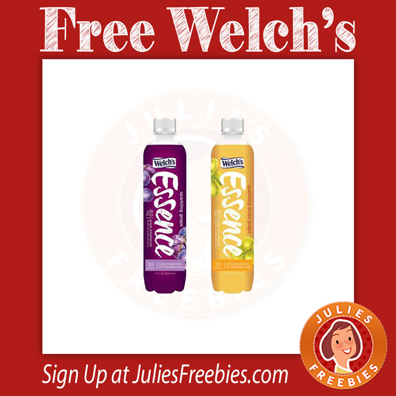 Kroger – Free Welch's Essence Flavored Sparkling Water