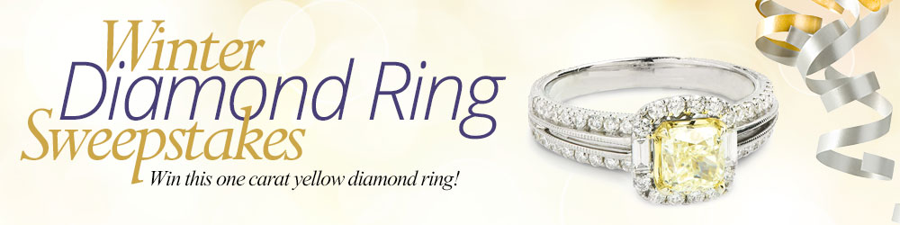 The Gem Shopping Network Winter Diamond Ring Sweepstakes