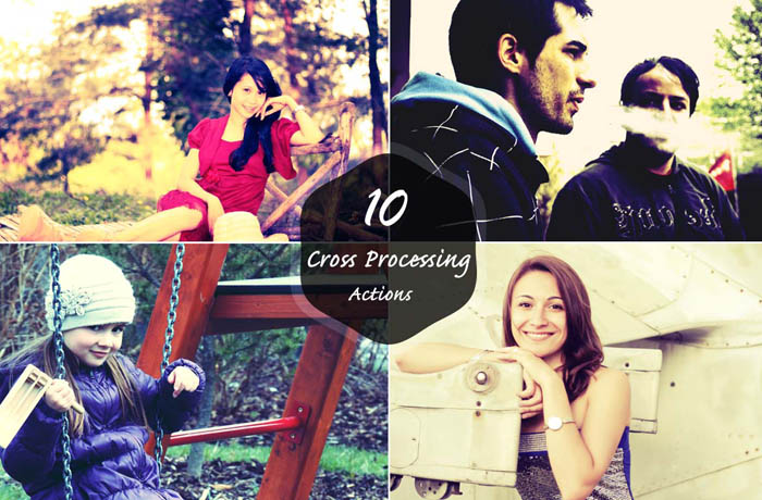 Free Cross Processing Photoshop Actions