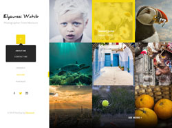 Third Eye – Free PSD Web Template for Photographer