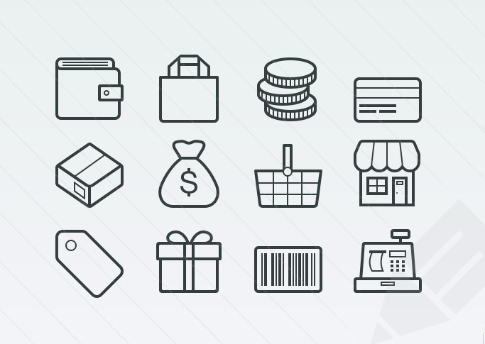 Free Vector Ecommerce Icons