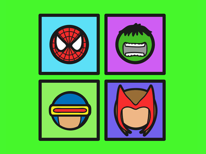 Marvel Heroes Icon Pack