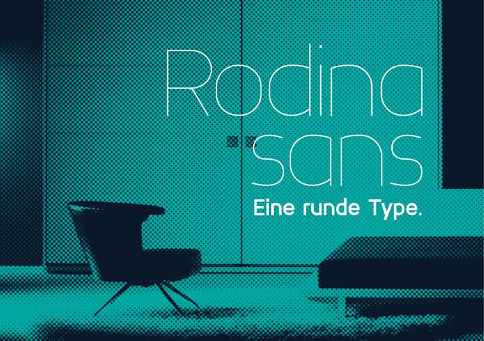 Rodina Free Font
