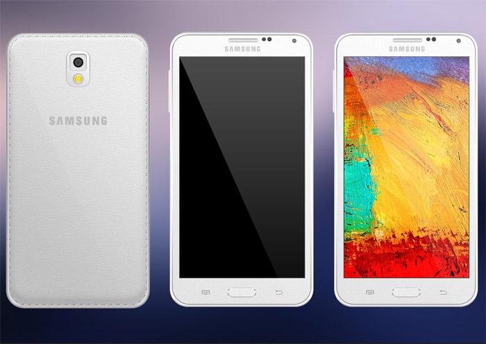 Samsung Galaxy Note 3 PSD Mockup