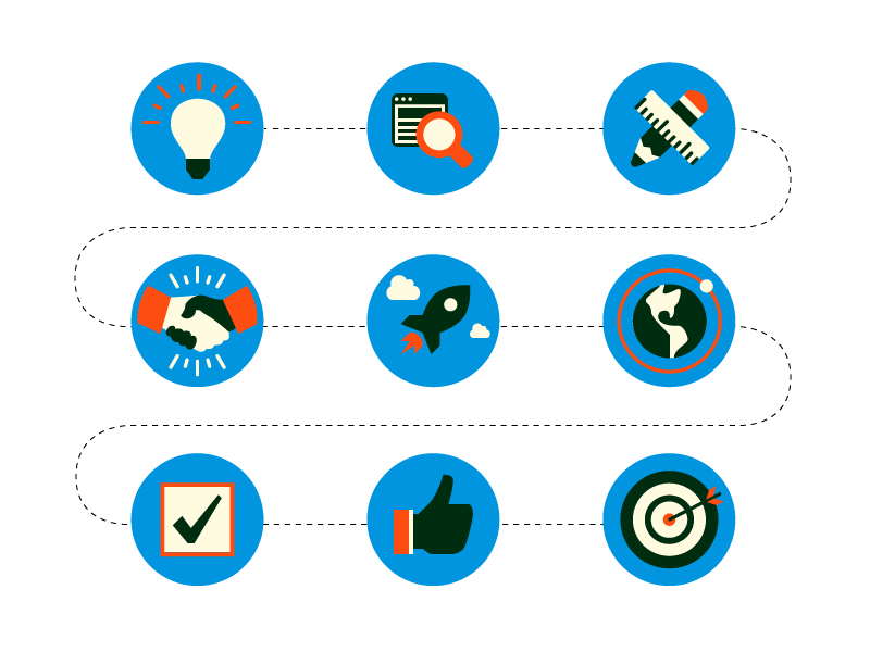 Flat Vector Business Icon