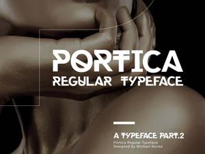 Portica Free Font