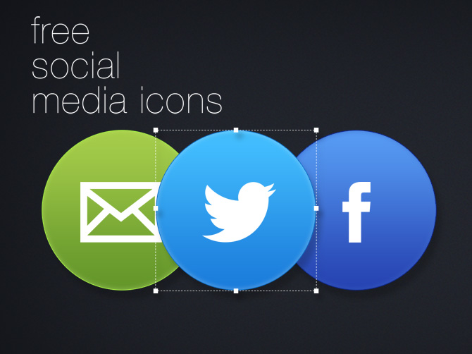 Free Circular Social Media Icon