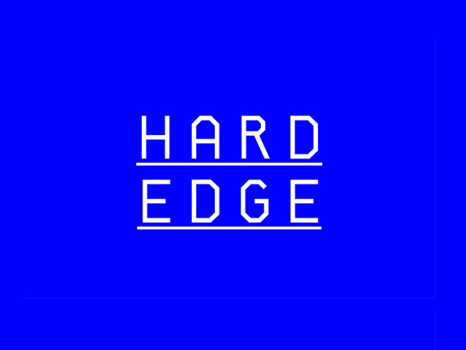 Hard Edge Free Sans Serif Font