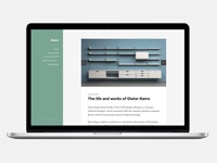Rams : Clean and Minimalist WordPress Theme