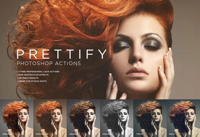 Prettify: Free Fantastic Photoshop Actions for Photo Sudio