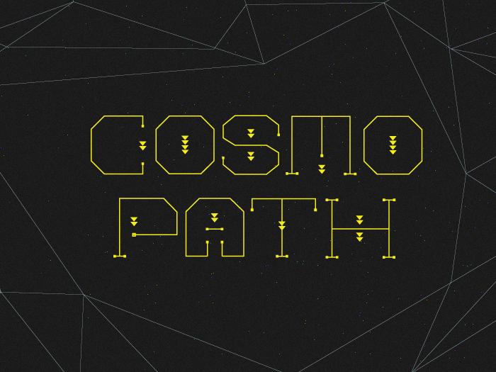 Cosmo Path Type : Free Handmade Font