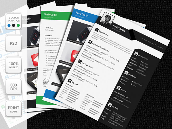 Free Multi-Page Resume Template