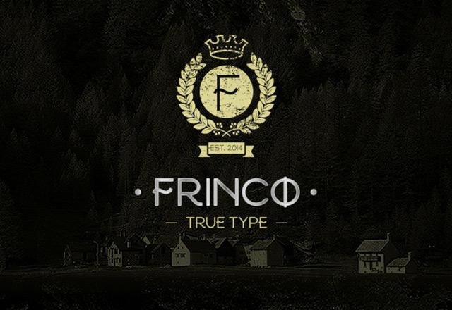 Frinco – Free Elegant Font