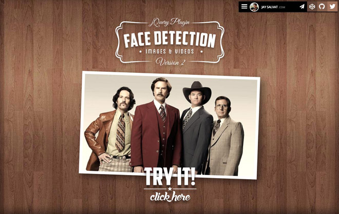jquery.facedetection: Face Detection jQuery Plugin