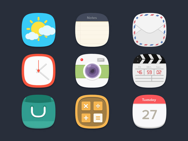 Free Flat Icons by Seevi kargwal