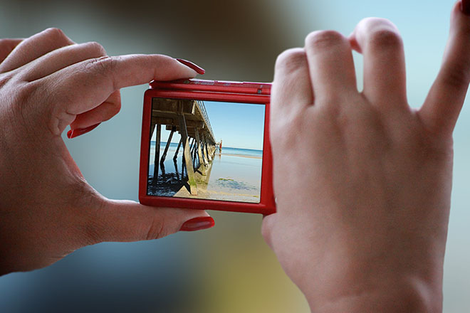 Free Photorealistic Camera PSD Mockups