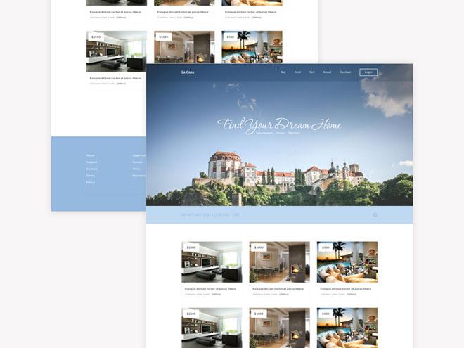 La Casa – Free Responsive Real Estate HTML5/CSS3 Template
