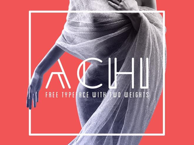 Achi Free Typeface