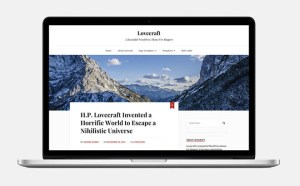 Lovecraft : Beautiful Blogger Wordpress Theme