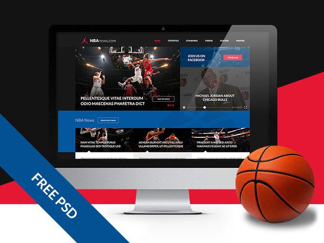 Sportymag : Free Responsive Sport Website Template