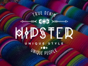 Free Typographic Logo Badges PSD
