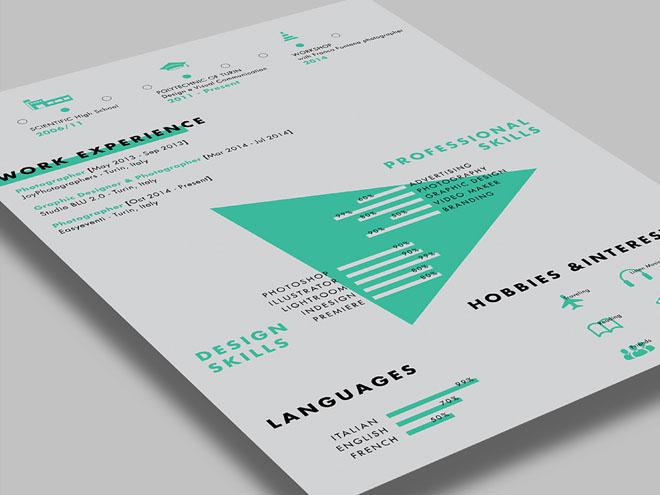 free creative cv resume template