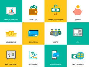 free finance icons