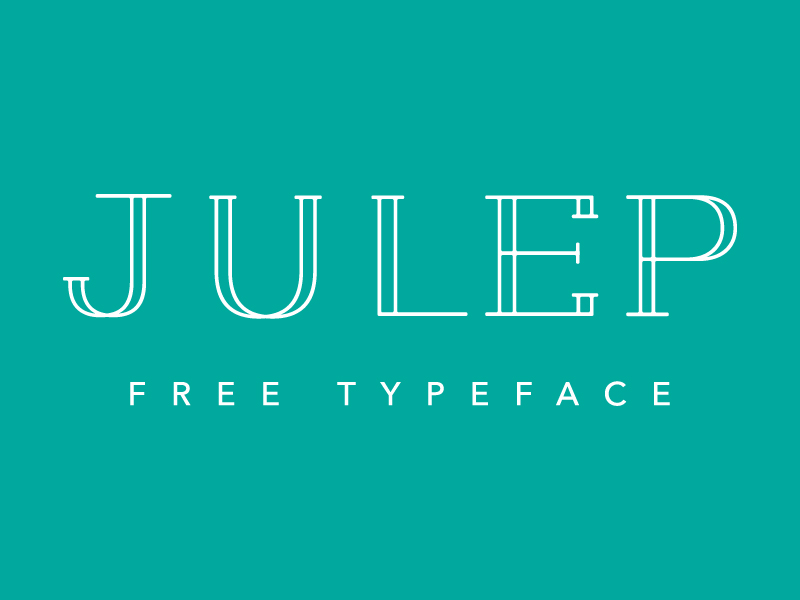 Julep Free Font