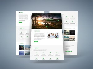 Free Business Portfolio PSD Template