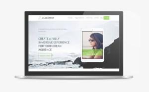 Allegiant : Free WordPress Theme for Digital Agency