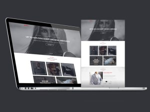 Brandly : Free Stylish PSD Website Template